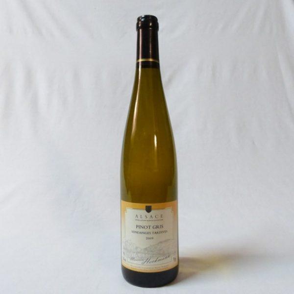 Bouteille Pinot Gris Vendanges Tardives 2009