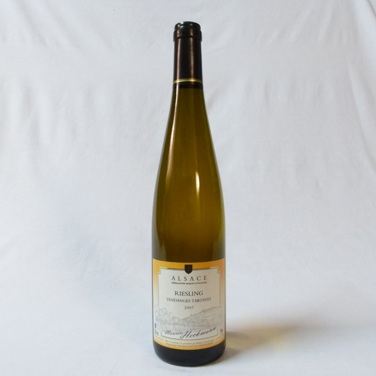 Bouteille Riesling Vendanges Tardives 2007